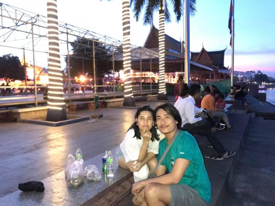 Cát Phượng và Kiều Minh Tuấn cùng nhau du hí Campuchia-10