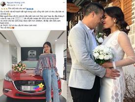 Trước khi hủy kết bạn với hôn phu, BTV Hoàng Linh đã rao bán ô tô mua chung với anh xã chưa đầy 3 tháng