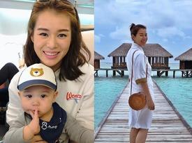 Hồ Hạnh Nhi khoe ảnh du lịch sang chảnh bên ông xã, bị nghi ngờ mang thai lần 2