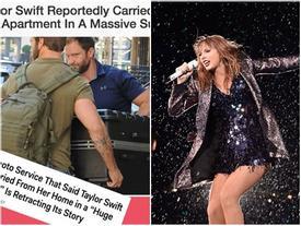Taylor Swift nhiều lần trốn vào vali để lẩn tránh paparazzi