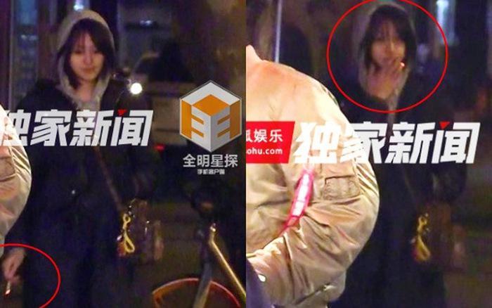 Nữ thần thanh xuân Trịnh Sảng bị bắt gặp phì phèo thuốc lá dù đang ngồi trước mặt bạn trai-7