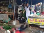 Vụ cô gái bán đậu bị bắn 3 phát, đâm chết giữa chợ: Nghi phạm đã tử vong-2