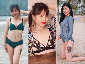 Những hình ảnh gợi cảm nhất của MC Hoàng Linh