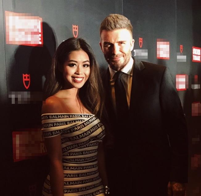 Thao Tien and her mother meet again with David Beckham in Singapore-2