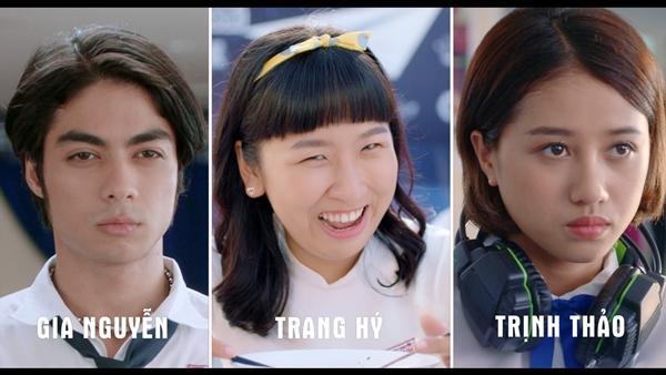 Chết cười với Thái Hòa phiên bản Kaity Nguyễn mặc đồng phục nữ sinh-9