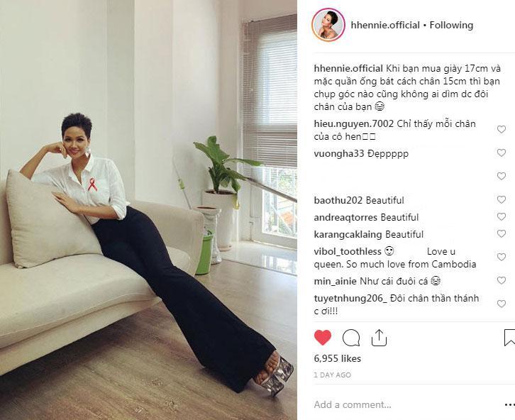 Hoa hậu Ê Đê sở hữu bảo vật chân dài nhìn như 2 mét nhờ... ăn lá rừng?-2