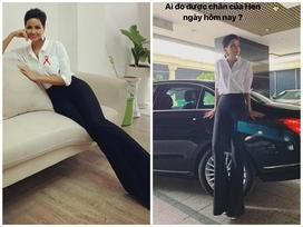Hoa hậu Ê Đê sở hữu 'bảo vật chân dài nhìn như 2 mét' nhờ... ăn lá rừng?