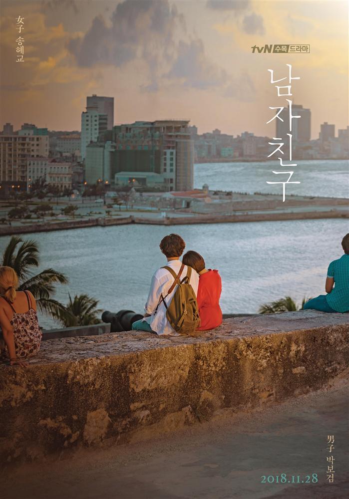 Song Hye Kyo và Park Bo Gum tình bể bình tại đất nước Cuba xinh đẹp-1