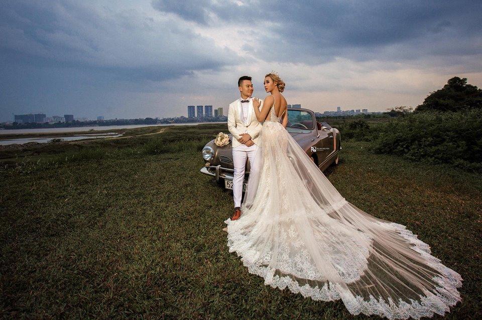 Thêm bộ ảnh cưới gây xôn xao khi cô dâu chịu chơi mặc bikini khoe trọn vòng 3 nóng bỏng-11