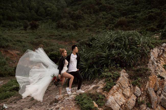 Thêm bộ ảnh cưới gây xôn xao khi cô dâu chịu chơi mặc bikini khoe trọn vòng 3 nóng bỏng-9