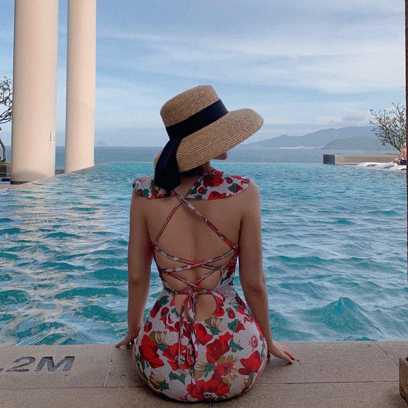 Vĩnh biệt mũm mĩm, Văn Mai Hương phô diễn hình thể nuột nà với bikini khiến vạn cô gái ghen tỵ-2