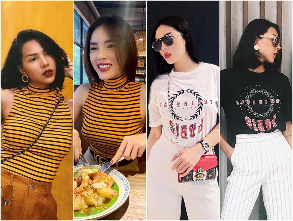 Gu thời trang đôi lứa xứng đôi của cặp bạn thân Kỳ Duyên - Minh Triệu