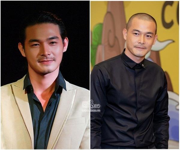 Tài tử showbiz Việt đồng loạt cắt đầu đinh: Người ngày càng đẹp trai, kẻ đánh rơi phong độ-2