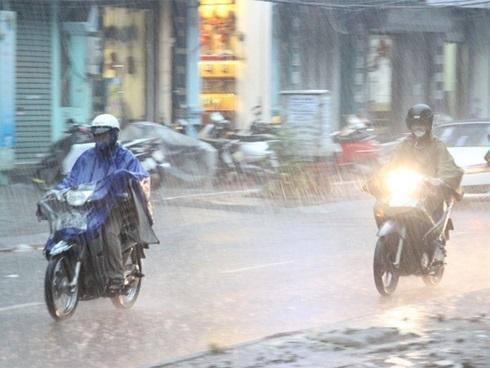 Ảnh hưởng không khí lạnh, ngày mai miền Bắc mưa giông