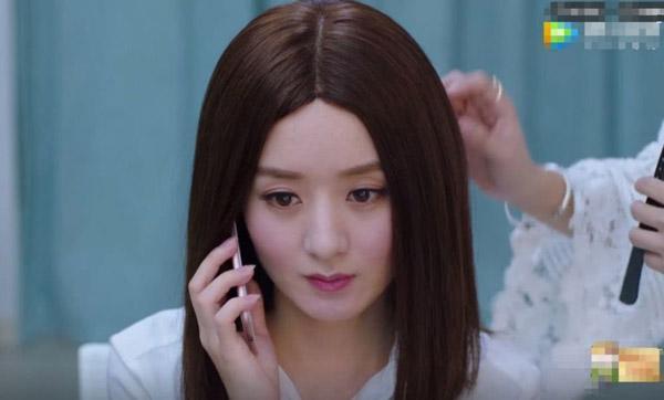 Triệu Lệ Dĩnh và Trịnh Sảng thành thảm họa vì đội tóc giả trong phim mới-3