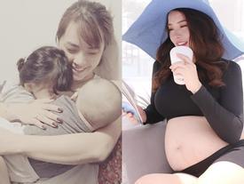 Đối mặt với nguy hiểm khi mang thai lần 3 liên tiếp sau sinh mổ, Hải Băng an nhiên: 'Cứ hưởng thụ khi có thể'
