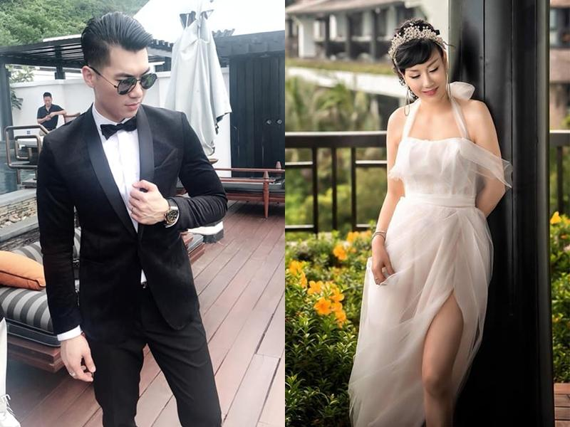 Thiệp cưới của Trương Nam Thành và người tình đại gia chính thức lộ diện-1