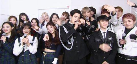 Mặc trận chiến fandom: TWICE - EXO đứng cạnh nhau vẫn là một kiệt tác-1