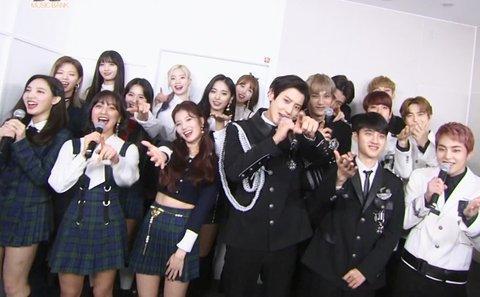 Mặc trận chiến fandom: TWICE - EXO đứng cạnh nhau vẫn là một kiệt tác-2