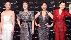 Củng Lợi, Châu Tấn, Lưu Gia Linh cùng loạt sao Hoa ngữ hàng đầu đổ bộ thảm đỏ Kim Mã danh giá