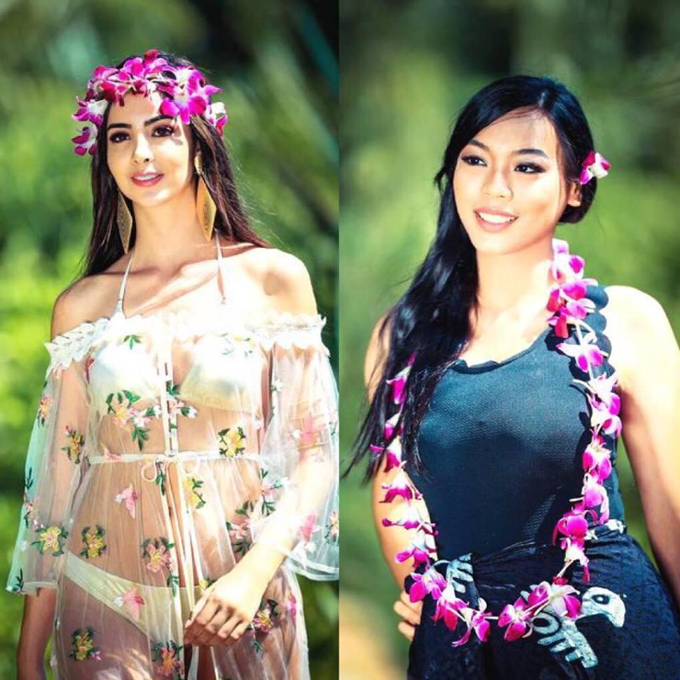 Trần Tiểu Vy diện bikini khoe đường cong bốc lửa không hề thua chị kém em tại Miss World 2018-14