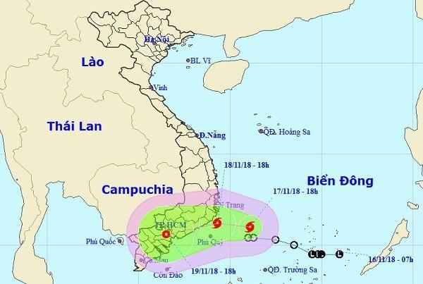 Bão số 8, gió giật cấp 10 sắp đi vào đất liền Việt Nam-1
