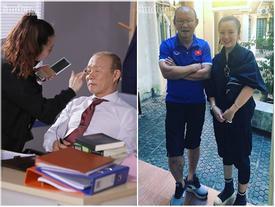 Hai 'bóng hồng' kể chuyện được make up cho thầy trò huấn luyện viên Park Hang – Seo trước giờ 'lên sóng'