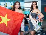 Một mình đứng ở bậc thang thấp nhất, thế mà chiều cao Minh Tú vẫn chặt đẹp dàn thí sinh Miss Supranational 2018-6
