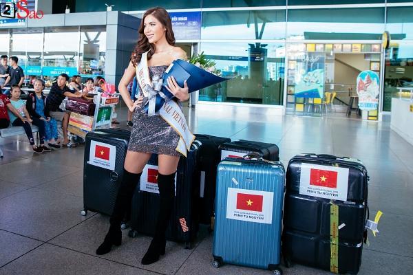 Lên đường tới Miss Supranational 2018, Minh Tú để lại lời hứa: Tôi sẽ chơi tất cả những gì mình có-8