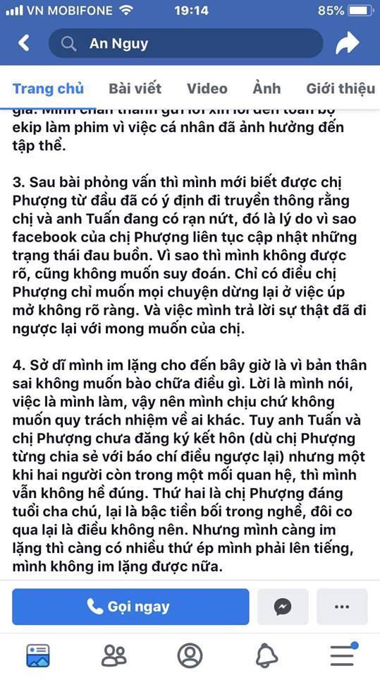SHOCK: An Nguy công khai nói xin lỗi và khẳng định Cát Phượng – Kiều Minh Tuấn chưa từng kết hôn-8