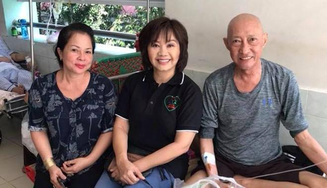 Nghệ sĩ Lê Bình đau đớn sau khi truyền thuốc điều trị ung thư phổi-2