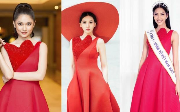 Những lần đụng độ váy áo của Hari Won với mỹ nhân Việt, ai đẹp hơn ai?-3