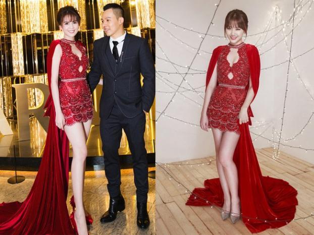 Những lần đụng độ váy áo của Hari Won với mỹ nhân Việt, ai đẹp hơn ai?-5
