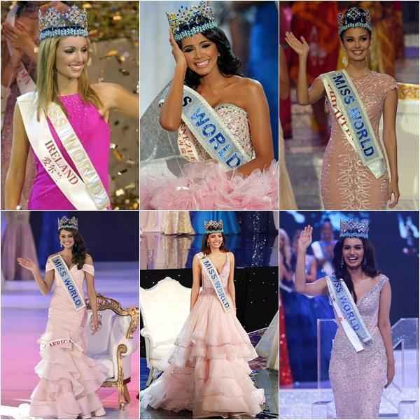 THẬT TUYỆT VỜI: Tiểu Vy đã lọt vào tầm ngắm của bà chủ tịch Miss World nhờ liên tục mặc váy hồng - xanh chuẩn phong thủy-9