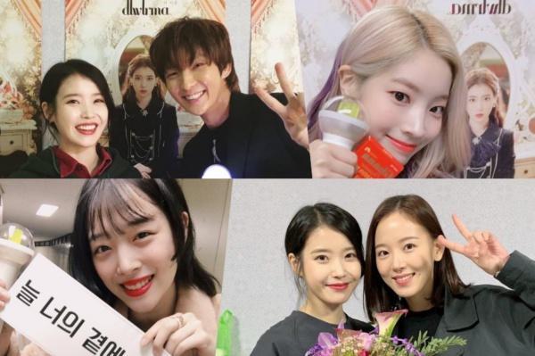 Jiyeon xuất hiện tại concert riêng của IU, xóa tan tin đồn xích mích bao năm nay-2