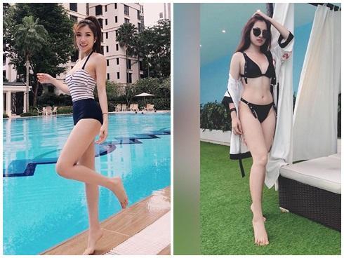 Đọ vẻ sexy tình mới - tình cũ của Dương Khắc Linh: Ai nóng bỏng hơn?-3