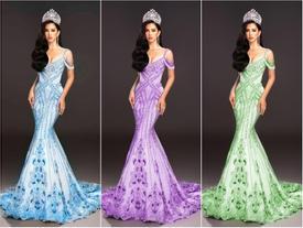 Hoa hậu Tiểu Vy nhờ fan chọn váy dạ hội giúp và cái kết 'đắng lòng' khiến cô đau đầu