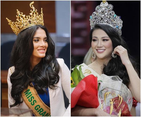Được khen đẹp hơn Hoa hậu Trái đất Phương Khánh, tân Hoa hậu Hòa Bình 2018 cười ha hả khiến mạng xã hội dậy sóng-2
