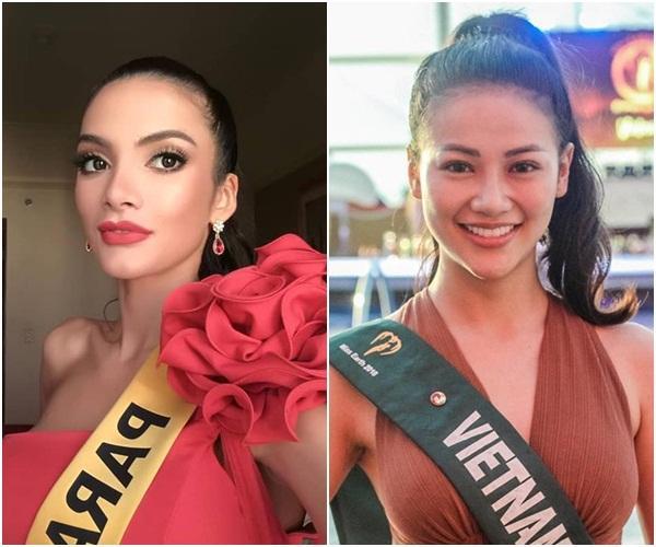 Được khen đẹp hơn Hoa hậu Trái đất Phương Khánh, tân Hoa hậu Hòa Bình 2018 cười ha hả khiến mạng xã hội dậy sóng-4