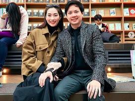 Đặng Thu Thảo khoe loạt ảnh đẹp cùng ông xã đại gia tình tứ tại Hàn Quốc