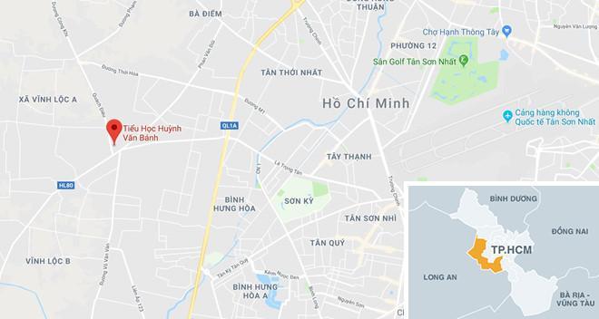 25 học sinh ở Sài Gòn bị thương khi giàn giáo đổ sập ở sân trường-3