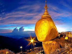 Hòn đá thiêng bằng vàng ở Myanmar và bí mật ẩn chứa bên trong