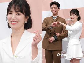 Song Hye Kyo khoe nhan sắc đỉnh cao bên cạnh đàn em kém 12 tuổi