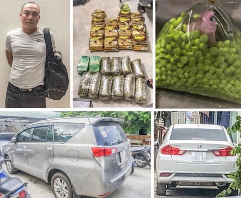 Gã trùm là đối tác của chị gái Dung Hà buôn 40kg ma túy ở Sài Gòn-2