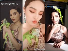 Kỳ Duyên mạnh dạn hun 'bạn diễn' từng khiến dàn thí sinh Vietnam's Next Top Model khiếp sợ
