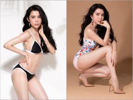 Hoa hậu Du lịch thế giới 2018 Huỳnh Vy ngồi xổm, ăn ức gà để có vòng ba 1 mét