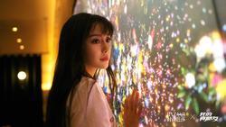 Angelababy với biểu cảm đôi mắt to vô hồn trên phim
