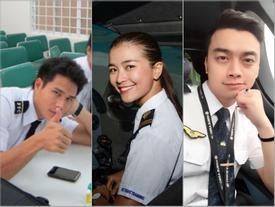 Cuộc sống của những sao Việt từ bỏ nghệ thuật để đi làm phi công hiện ra sao?