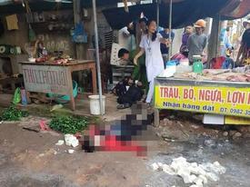 Vụ cô gái bán đậu bị bắn 3 phát, đâm chết giữa chợ: Nghi phạm đã tử vong