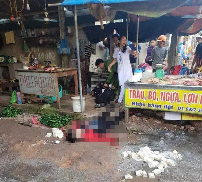 Vụ cô gái bán đậu bị bắn 3 phát, đâm chết giữa chợ: Nghi phạm đã tử vong-1